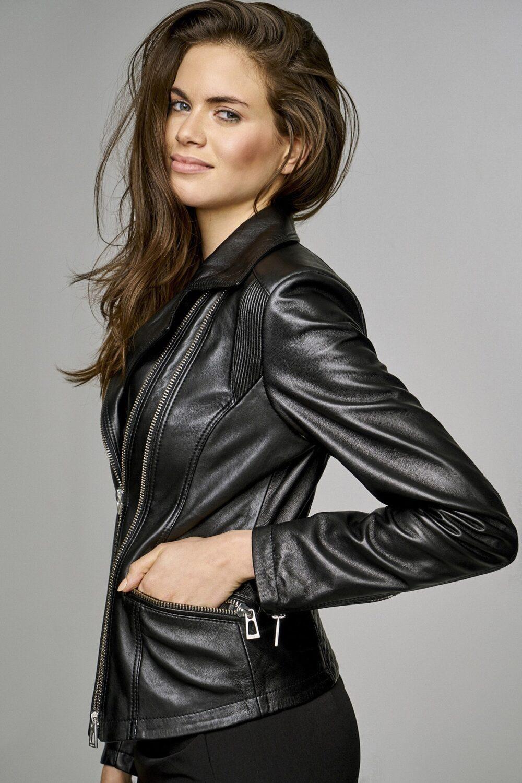 Wilson Leather Moto Jacket