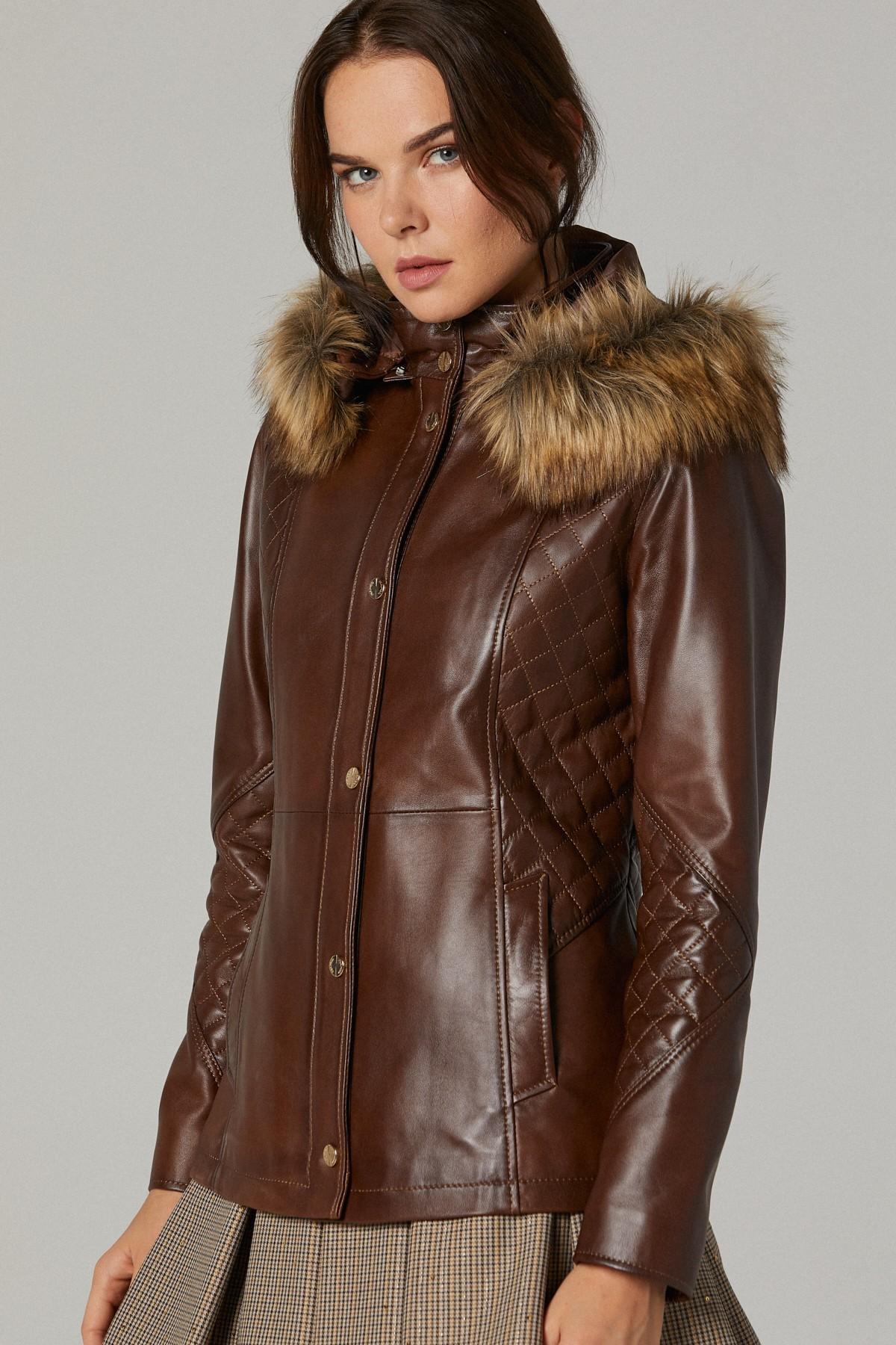 Pelle Studio Leather Jacket Womens