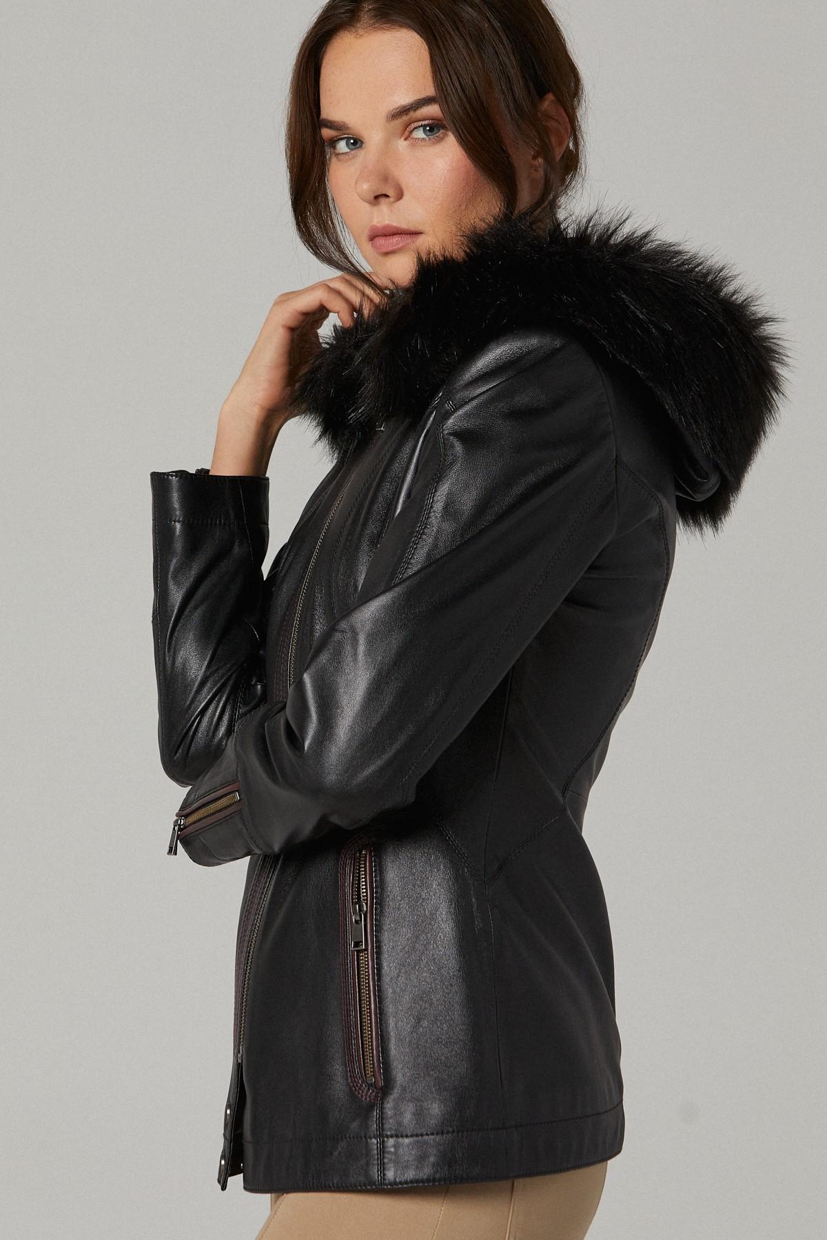 Wilsons Leather Fur Coat