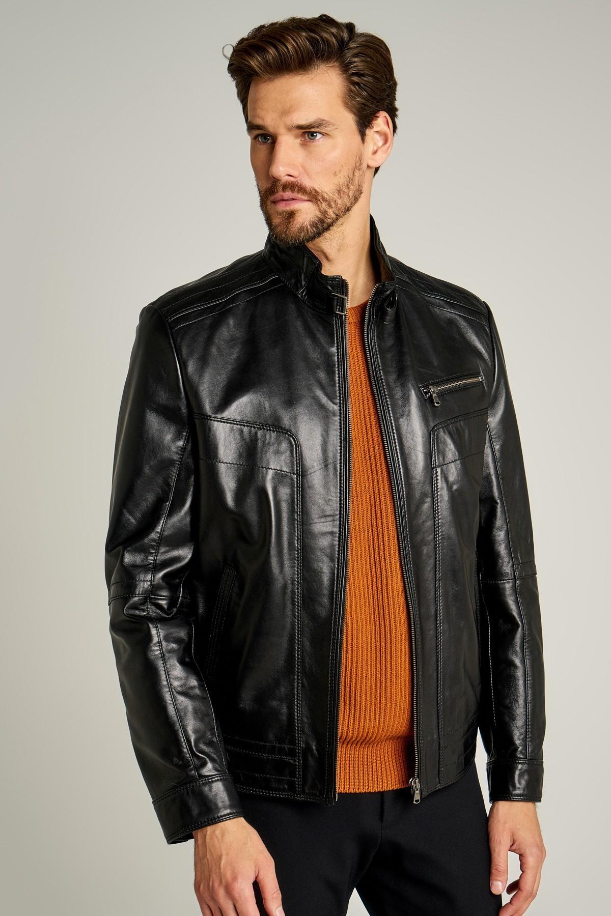 Leather Man Jacket