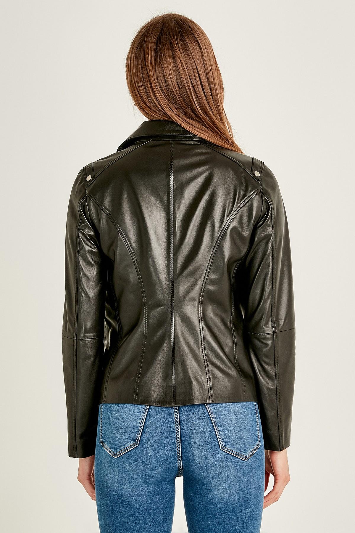 Stylish Field Leather Jacket Womens