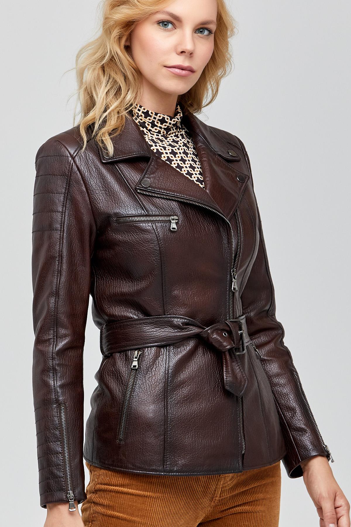 Lambskin Leather Jacket Women's