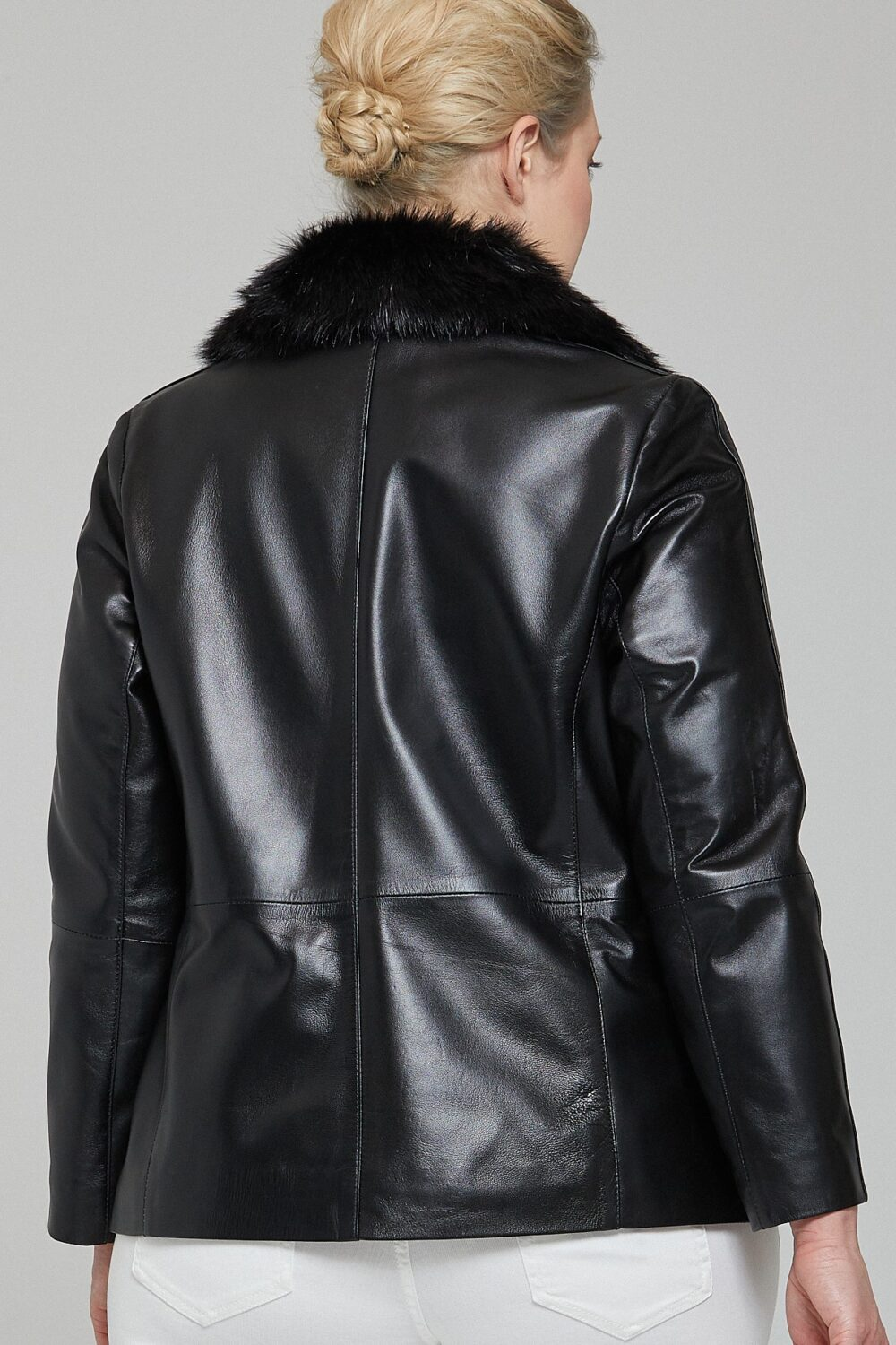 Leather Fur Jacket