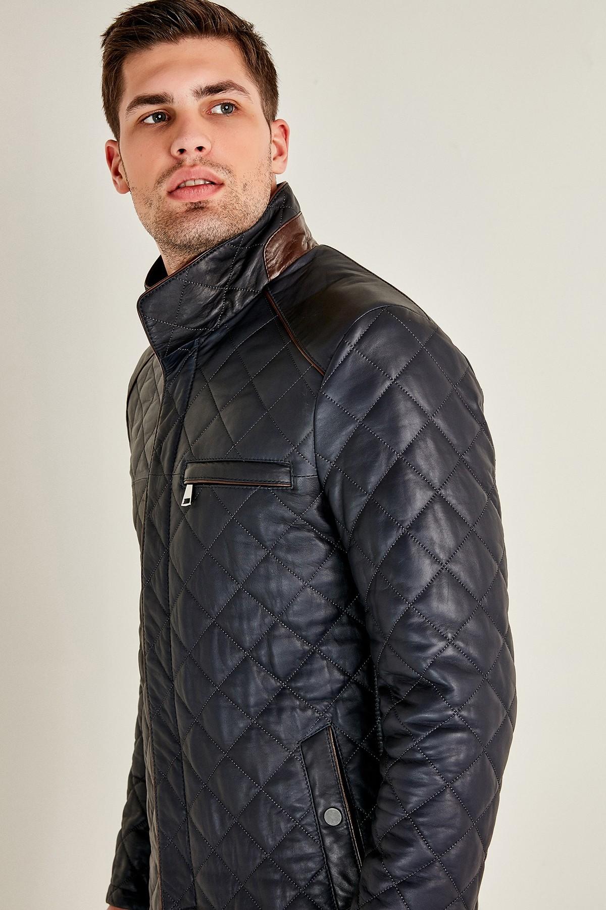 Fendi Leather Jacket Mens