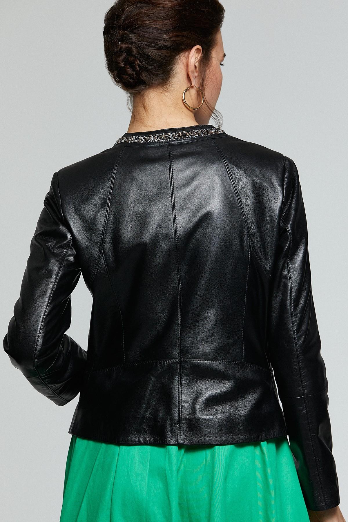 Uniqlo Womens Leather Jacket