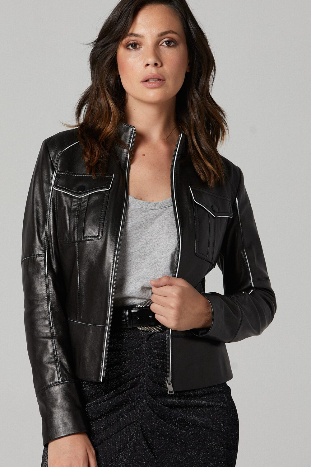 Asos Leather Jacket For Womens