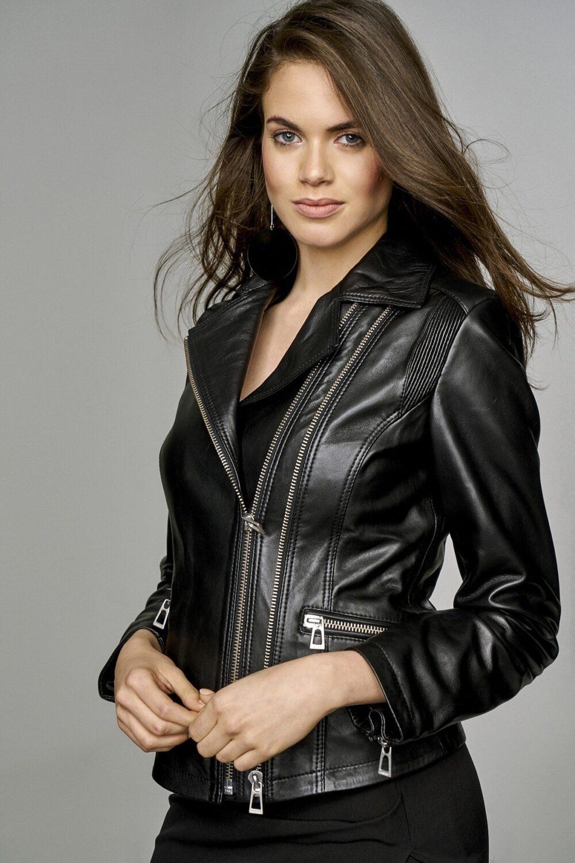Alex Costa Leather Moto Jacket